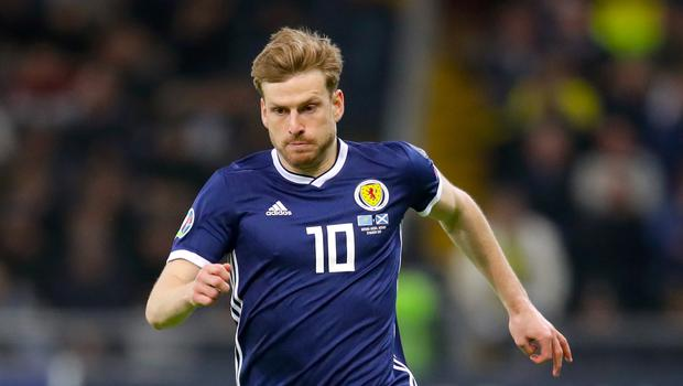 Scotland's Stuart Armstrong aims to make amends (Adam Davy/PA)
