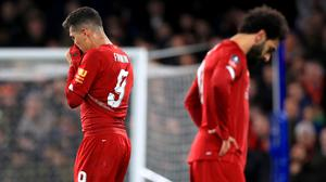 Liverpool's players have been called on to respond after they tumbled out of the FA Cup (Mike Egerton/PA)