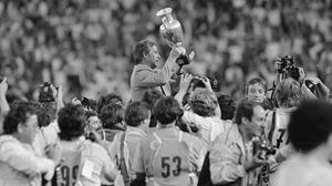 Michel Hidalgo, the manager of France when they won the European Championship in 1984, has died (AP).
