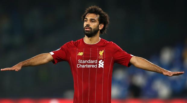 Liverpool's Mohamed Salah is firing on all cylinders again after recovering from an ankle knock (Tim Goode/PA)