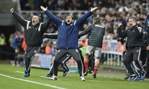 """Poyet's call for """"a miracle"""" at Sunderland was answered (Owen Humphreys/PA)"""