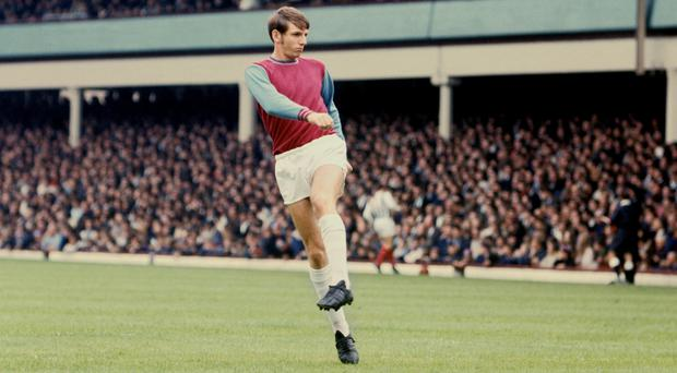 Martin Peters made more than 300 appearances for West Ham (PA).