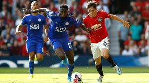 Manchester United and Leicester will go head-to-head in a final-day shootout for a Champions League spot (Martin Rickett/PA)
