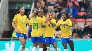 Brazil Women will be paid the same amount as their male counterparts (Owen Humphreys/PA)