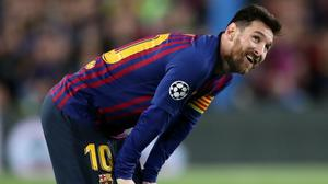 Lionel Messi is sticking with Barcelona (Nick Potts/PA)
