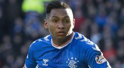 Rangers claim striker Alfredo Morelos was racially abused in Sunday's Old Firm derby (Jeff Holmes/PA)