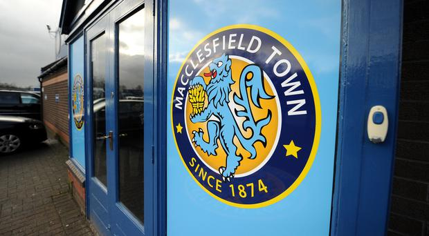 Macclesfield's game with Crewe has been suspended (Dave Howarth/PA)