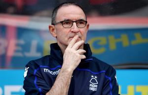 McCarthy is following in the footsteps of Martin O'Neill, now at Nottingham Forest (Scott Wilson/PA)