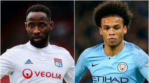 Speculation around about Moussa Dembele and Leroy Sane (Mark Kerton/Richard Sellers/PA)