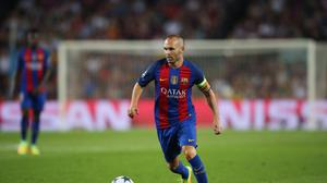 Barcelona's Andres Iniesta does not know if he will be at the club next season