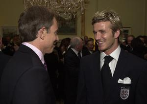 Even Prime Minister Tony Blair expressed his concern about David Beckham's well-being (Matthew Fearn/PA)
