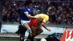 Everton and Watford clashed in the 1984 FA Cup final (PA Archive).