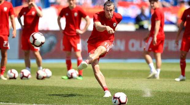 Gareth Bale is looking forward to Wales' match against Azerbaijan (PA)