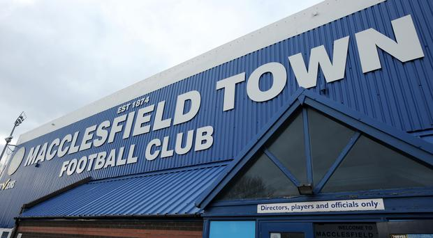 Macclesfield have been deducted six points for various infringements (Clint Hughes/PA)