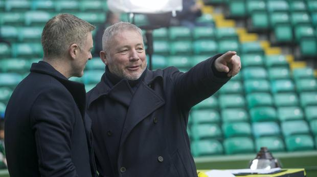 Ally McCoist offered congratulations and sympathy (PA)