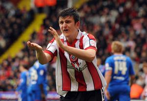 England and Manchester United defender Harry Maguire began his professional career in the Championship at Sheffield United (Andrew Matthews/PA)
