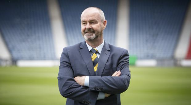 Steve Clarke has picked his first Scotland squad (Jane Barlow/PA)