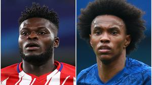 Atletico Madrid have not offered Thomas Partey enough money, which has the midfielder considering Arsenal's bid (John Walton/Adam Davy/PA)