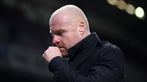 Sean Dyche said the relentless attitude of his players has paid off in recent results (Michael Regan/PA)