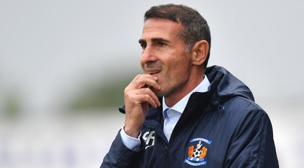 Angelo Alessio is no longer the Kilmarnock manager (Anthony Devlin/PA)