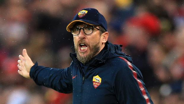 Roma coach Eusebio di Francesco is looking for a miracle in their Champions League semi-final second leg against Liverpool.