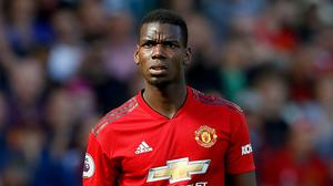 Paul Pogba continues to be linked with a move away from Old Trafford (Martin Rickett/PA)