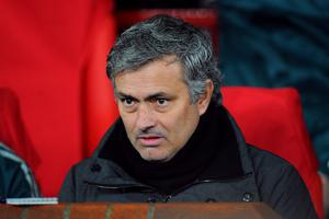 Mourinho, pictured, poked Tito Vilanova in the eye in a tumultuous Supercopa de Espana clash (Martin Rickett/PA)