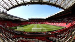 Manchester United have announced plans to trial safe standing at Old Trafford (Nigel French/PA)
