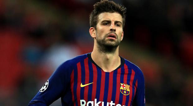 Gerard Pique wants everyone at Barcelona to come together (Mike Egerton/PA)
