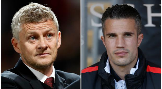 """Ole Gunnar Solskjaer was unimpressed by Robin Van Persie's suggestion that he needs to be """"more angry"""" after a defeat (Martin Rickett/Lynne Cameron/PA)"""