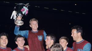 West Ham won the 1964/65 European Cup Winners' Cup (PA)