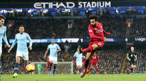 Manchester City against Liverpool will be played at the Etihad Stadium (Richard Sellers/PA)