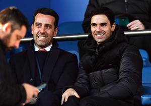 Arsenal's technical director Edu (left) defended Arteta in a recent interview (Anthony Devlin/PA)