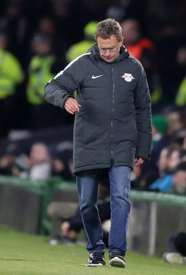 Ralf Rangnick, pictured, has been central to RB Leipzig's rise (Jane Barlow/PA)