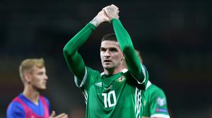 Kyle Lafferty's brace is timely good news for Northern Ireland.