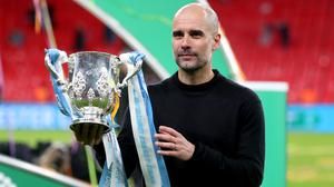 Guardiola won his 29th trophy as a manager (Mike Egerton/PA)