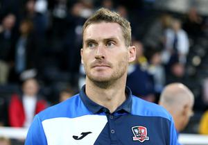 Exeter boss Matt Taylor played for the club for four years earlier in his career (Nigel French/PA)
