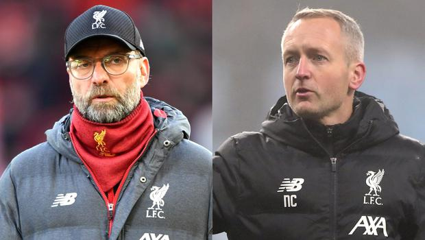 Neil Critchley, right, has revealed Jurgen Klopp, left, can dial in on Tuesday (Anthony Devlin/Nick Potts/PA)