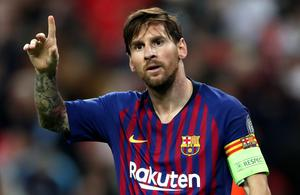 Lonel Messi has another year remaining on his contract but wants to leave (Nick Potts/PA)