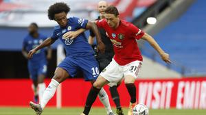 Nemanja Matic rued costly errors (Alastair Grant/NMC Pool/PA)