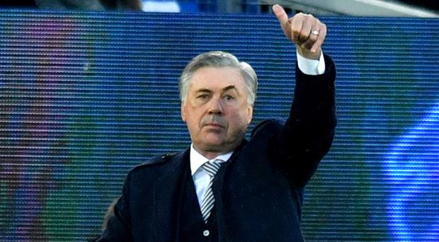 Carlo Ancelotti says he welcomes the pressure of a Merseyside derby (Anthony Devlin/PA)