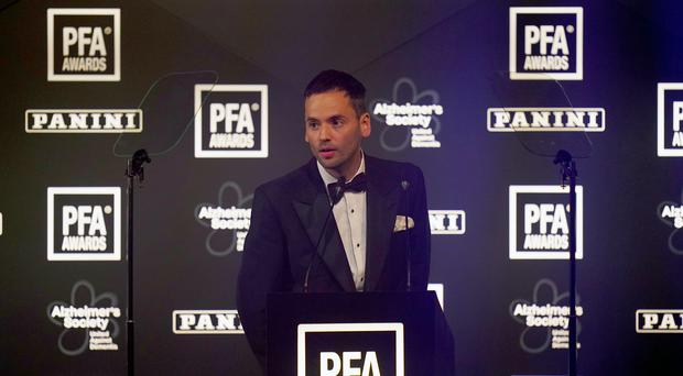 PFA chairman Ben Purkiss says the independent review into how the union is governed must continue on its course (John Walton/PA)