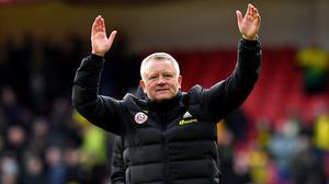 Chris Wilder expects players and managers to agree to a pay cut during the coronavirus crisis (Anthony Devlin/PA)