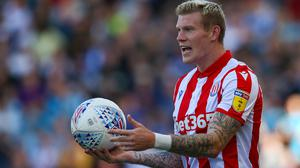 Stoke's James McClean has been fined two weeks' wages. (Dave Thompson/PA)