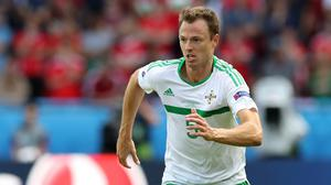 Jonny Evans was solid at the back for Northern Ireland