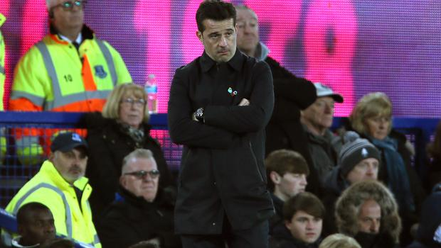 Everton manger Marco Silva has faced calls for his dismissal (Richard Sellers/PA)