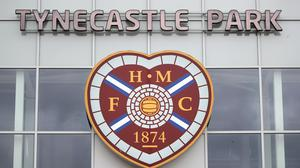 Hearts will host Dundee at Tynecastle on the opening day of the Scottish Championship on October 17 (Jane Barlow/PA)