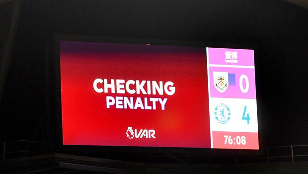 From December, VAR screens will show more information (Anthony Devlin/PA)