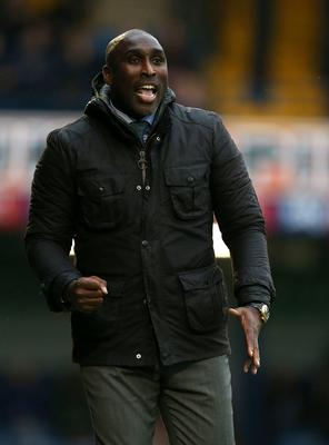 Southend boss Sol Campbell is one of a very small number of black managers in the English game (Steven Paston/PA)
