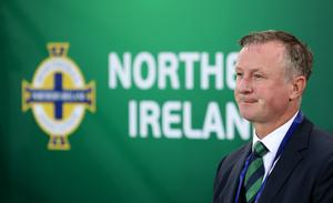 Michael O'Neill stepped down as Northern Ireland boss in April (Liam McBurney/PA)